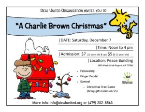 DUO Charlie Brown Christmas - December 7
