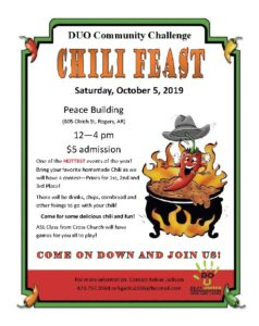 DUO Chili Feast - October 5