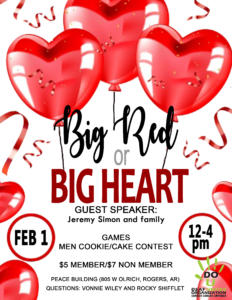 DUO February 2019 - Big Red or Big Heart