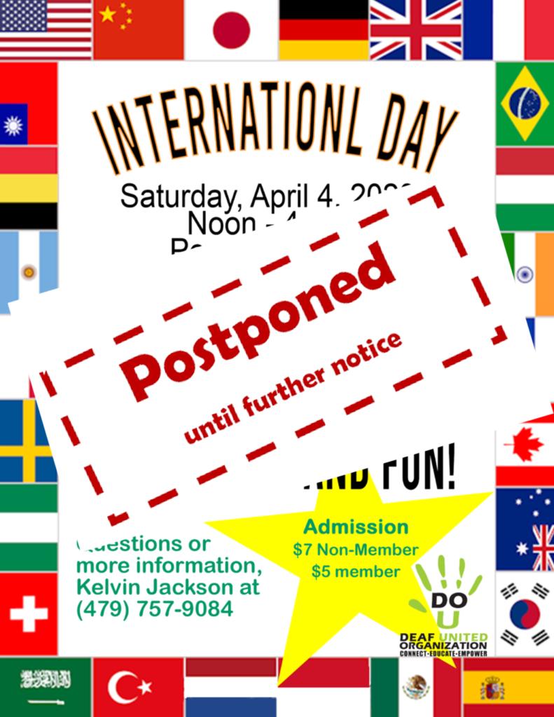 DUO International - Postponed