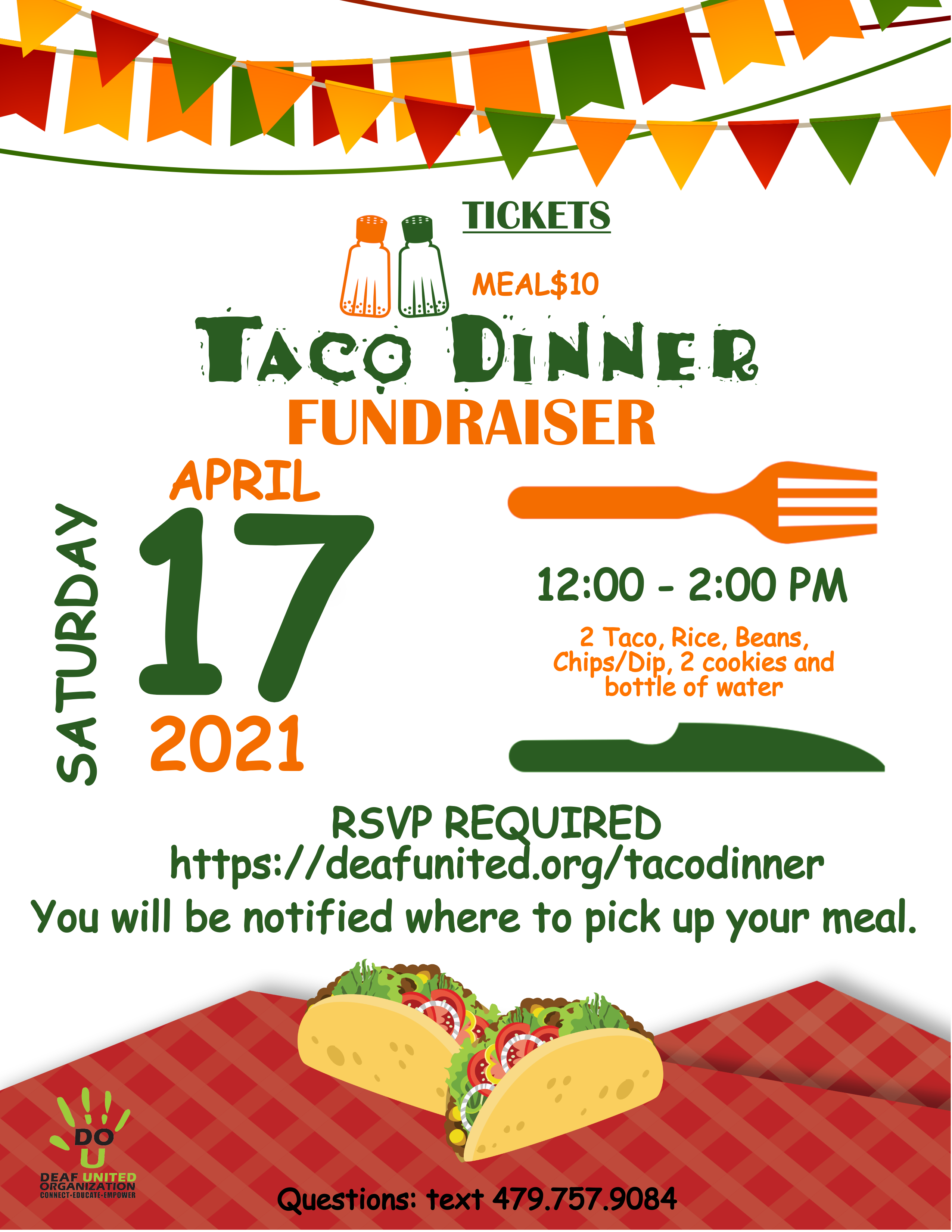 Taco Fundraiser - April 17